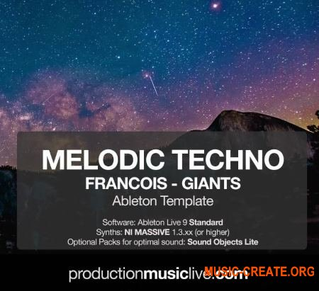Production Music Live Melodic Techno Francois Giants (Ableton Template)
