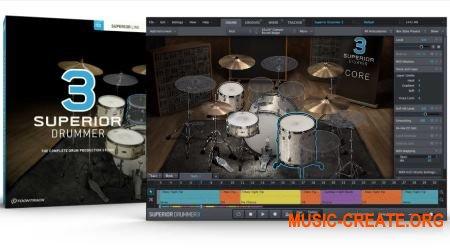 Toontrack Superior Drummer 3 v3.0.2 WiN - сэмпл-движок для ударных