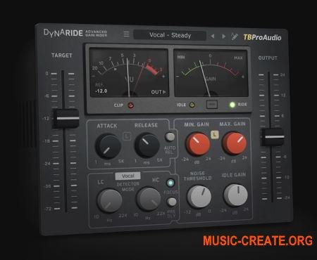 TBProAudio DynaRide v1.1.6 (Team R2R) - плагин автоматического выравнивания аудиосигнала
