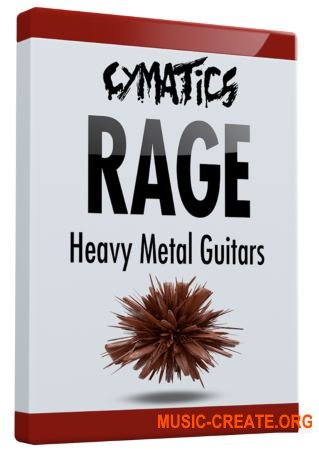 Cymatics Rage Heavy Metal Guitar Loops (WAV) - сэмплы электрогитары