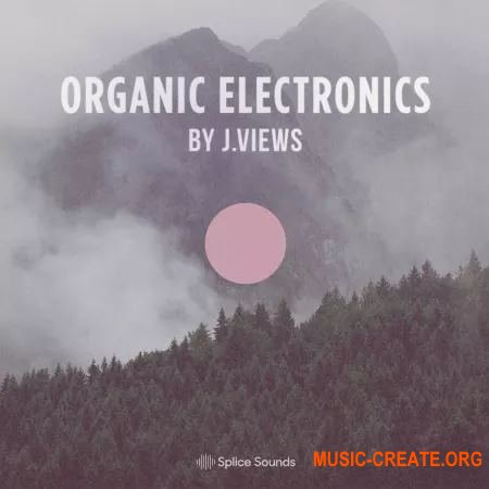 Splice Sounds Organic Electronics by J.Views (WAV) - сэмплы Downtempo