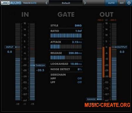 DMG Audio Track Range v1.1.1 WiN/OSX (Team R2R) - сборка плагинов