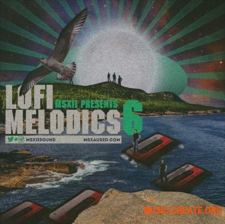MSXII Sound Lofi Melodics 6 (WAV) - сэмплы Lofi