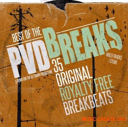 PVD Best Of The Breaks (WAV) - сэмплы брейков