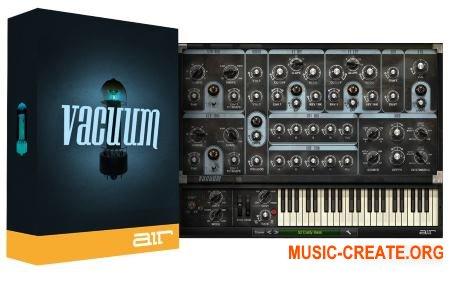 AIR Music Technology Vacuum v1.2.11 (Team R2R) - монофонический винтажный синтезатор