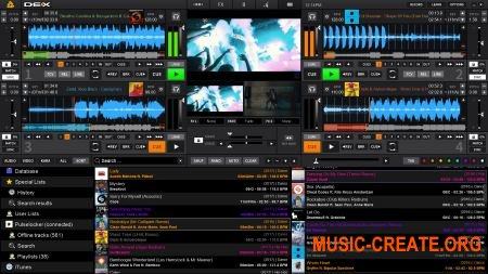 Digital 1 DJ - PCDJ DEX 2.5.0 (TEAM MPT) - dj оборудование