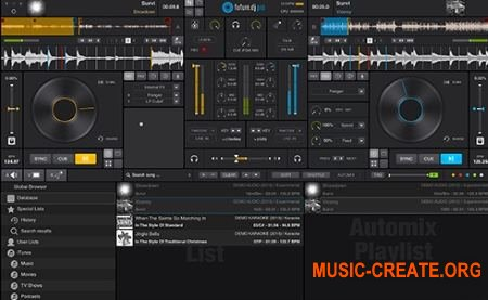 XYLIO Future DJ Pro v1.5.2.0 WiN / OSX (Team R2R) - инструмент dj