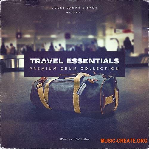 Julez Jadon Travel Essentials Premium Drum Collection (WAV) - сэмплы Hip Hop, Trap, RnB