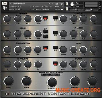 Global Audio Tools Transparent (KONTAKT)