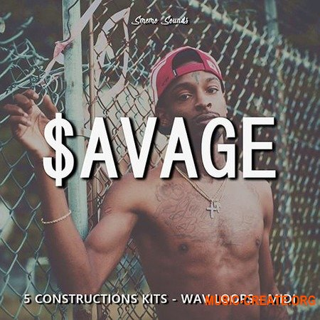Smemo Sounds SAVAGE (WAV MiDi) - сэмплы Hip Hop, Trap