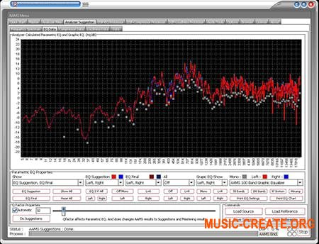 Sined Supplies AAMS Auto Audio Mastering System v3.7.0.3 CE (Team V.R) - плагин для мастеринга