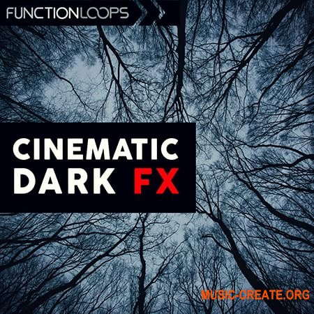Function Loops Cinematic Dark FX (WAV) - сэмплы звуковых эффектов, кинематографические