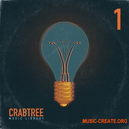 The Drum Broker Crabtree Music Library Vol.1 (WAV) - сэмплы Hip Hop, Rap