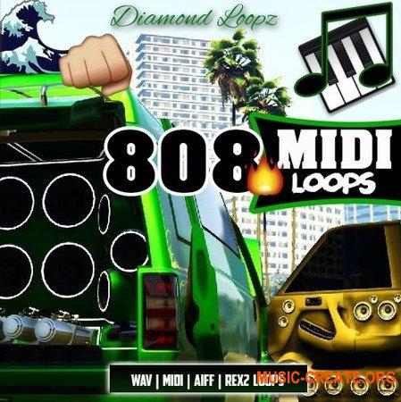 Diamond Loopz 808 Midi Loop Pack (Multiformat) - сэмплы Trap, Hip Hop