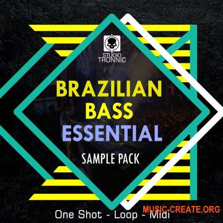 Studio Tronnic Brazilian Bass Essential (WAV MiDi) - сэмплы Brazilian Bass
