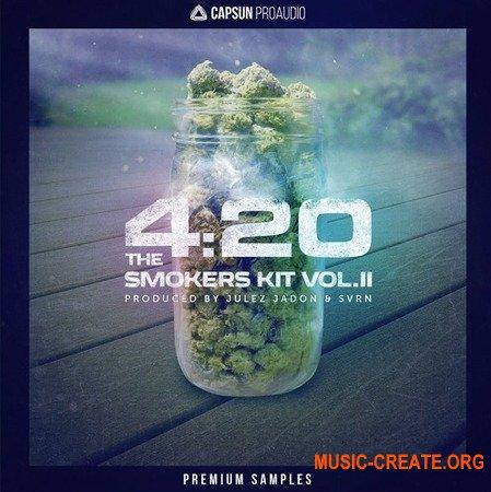 Capsun ProAudio 4:20 The Smokers Kit Vol.2 (WAV REX) - сэмплы Hip Hop, Rap, Trap