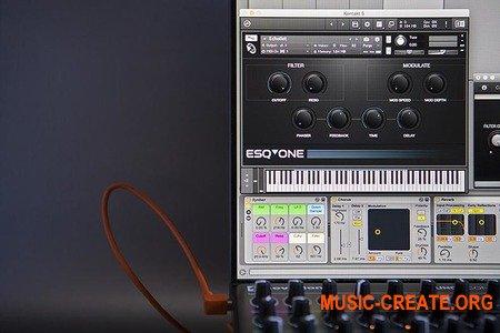 Puremagnetik Esqone (MULTiFORMAT) - библиотека звуков аналогового синтезатора Ensoniq ESQ-1
