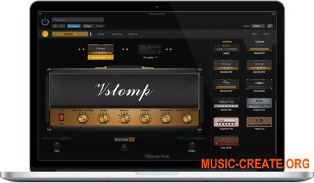 Hotone Audio VStomp Amp v1.1.0 Fixed (Team R2R) - плагин виртуального усилителя