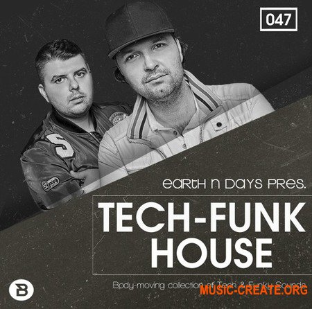 Bingoshakerz Tech-Funk House by Earth N Days (WAV) - сэмплы Tech House,  Jackin's House, Funky House, Deep House, House