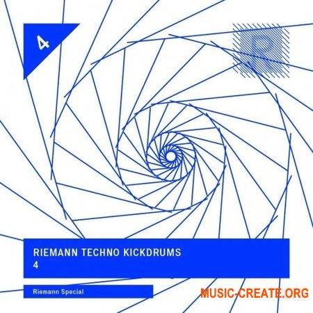 Riemann Techno Kickdrums 4 (WAV) - сэмплы ударных Techno, Minimal Techno