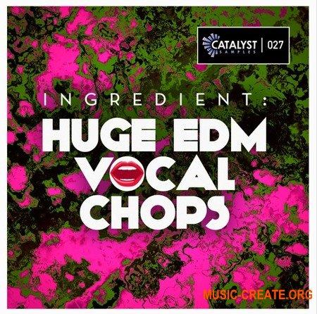 Catalyst Samples Ingredient Huge EDM Vocal Chops