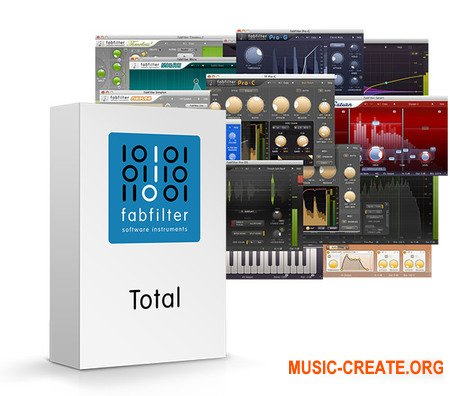 FabFilter Total Bundle 2018.2