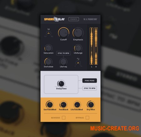 W. A. Production SphereDelay v1.0 x86x64 - плагин дилэй