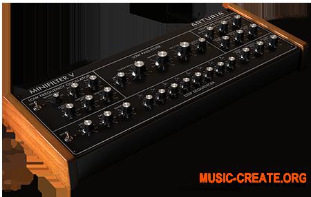 Arturia Mini-Filter v1.2.0.389 (Team V.R) - плагин  эмуляции фильтра из синтезатора Moog Model D