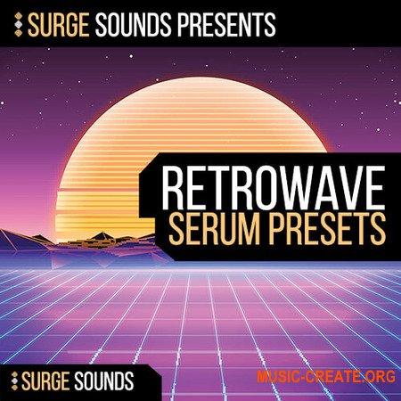 Surge Sounds Retrowave (WAV SERUM) - сэмплы Disco, Retro Disco, Disco House