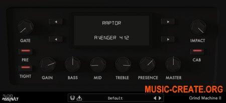 Audio Assault Grind Machine II v1.2 WIN / OSX RETAiL + Amp Pack (SYNTHiC4TE) - плагин гитарный усилитель