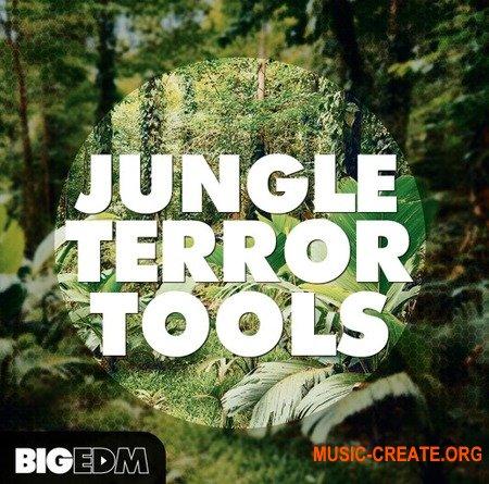 Big EDM Jungle Terror Tools (WAV MiDi SERUM SYLENTH1) - сэмплы EDM, Moombatone, Jungle, Future House, Dubstep