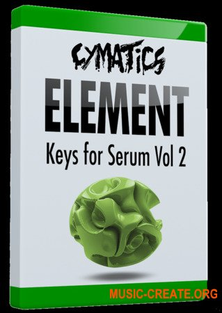 Cymatics Element Keys for Serum Vol.2 (SERUM PRESETS)
