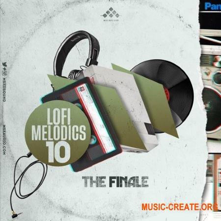 MSXII Sound Lofi Melodics 10 The Finale (WAV) - сэмплы Lofi Hip Hop
