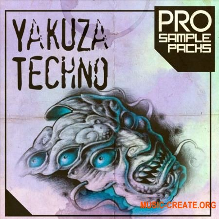 Pro Sample Packs Yakuza Techno (WAV MiDi SYLENTH1 SPiRE) - сэмплы Techno
