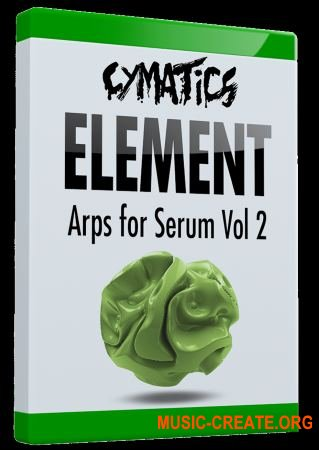 Cymatics Element Arps for Serum Vol.2 (FXP)