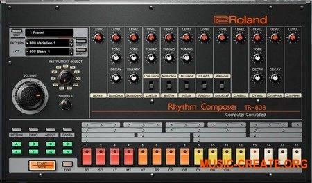 Roland VS TR-808 v1.0.6 (Team R2R) - драм-машина