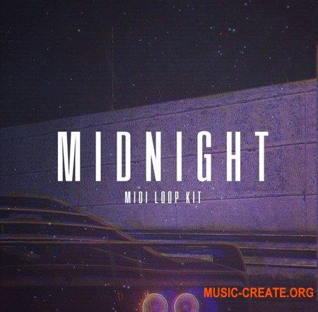 The Kit Plug Midnight MIDI Melody Kit (MiDi) - миди Hip Hop, Rap