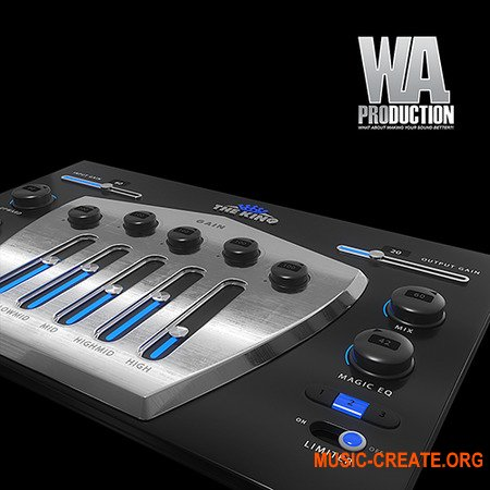W.A. Production The King v1.0.1 x86 x64 - плагин компрессор