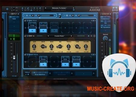 Blue Cat's Axiom v1.0.0 CE (Team V.R) - мульти-эффект процессор, гитарный усилитель