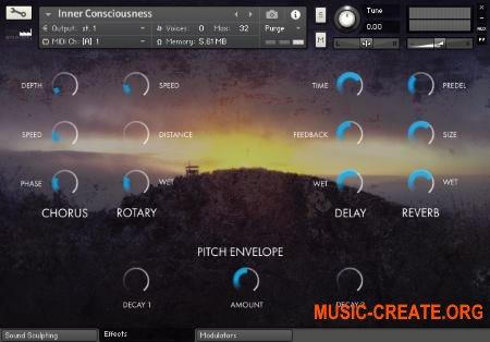 Sonus Dept EMPYREALM (KONTAKT) - библиотека атмосферных звуков