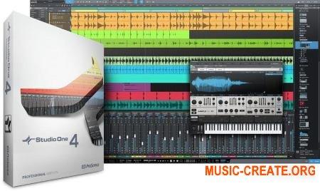 PreSonus Studio One 4 Professional v4.0.0 WiN/OSX (Team R2R) - программа для создания музыки