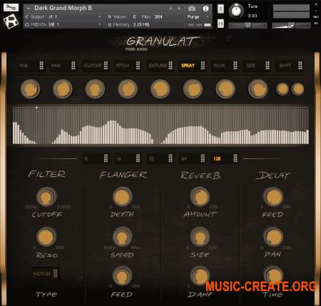 Rigid Audio Granulat v1.1 (KONTAKT)