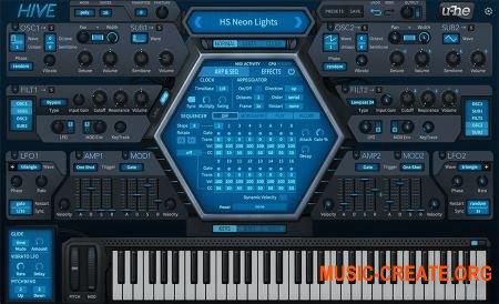 u-he Hive v1.2.1.8256 CE (Team V.R) - синтезатор