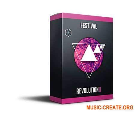 Evolution Of Sound Festival Revolution Vol.2 (WAV MiDi SYLENTH1 SERUM) - сэмплы Big Room House