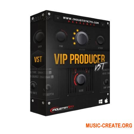IndustryKits.com VIP Producer VST WiN OSX