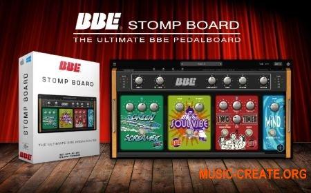BBE Stomp Board v1.0.0 WiN OSX (Team R2R) - гитарный усилитель