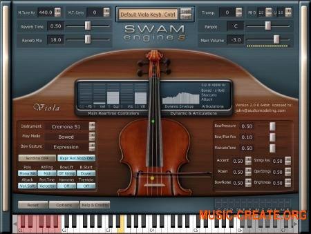 Audio Modelling SWAM Engine SWAM Viola v2.0.1 CE (Team V.R) - виртуальный альт