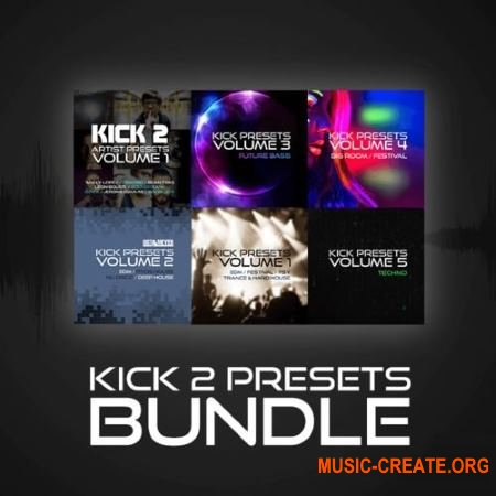 Sonic Academy Kick 2 Preset Bundle