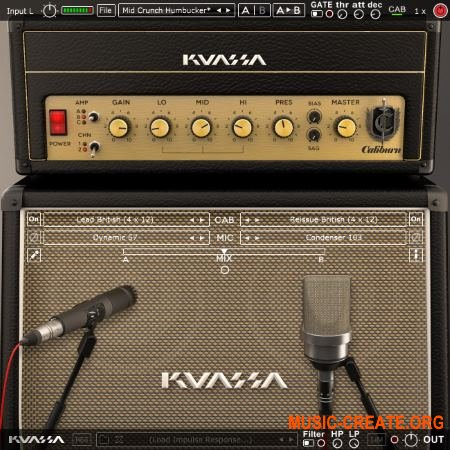 Kuassa Amplifikation Caliburn v1.0.0 CE (Team V.R) - симулятор усилителя гитары