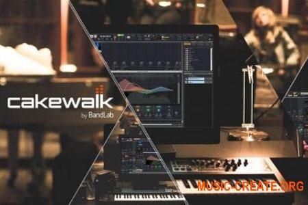 BandLab Cakewalk v24.8.0.32 (Team R2R) - программа для создания музыки
